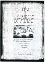 Enrico Gasperi_ la copertina del primo manoscritto (1996)