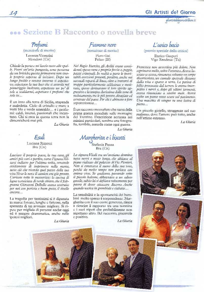 Enrico Gasperi_ artisti del giorno ottobre 2008