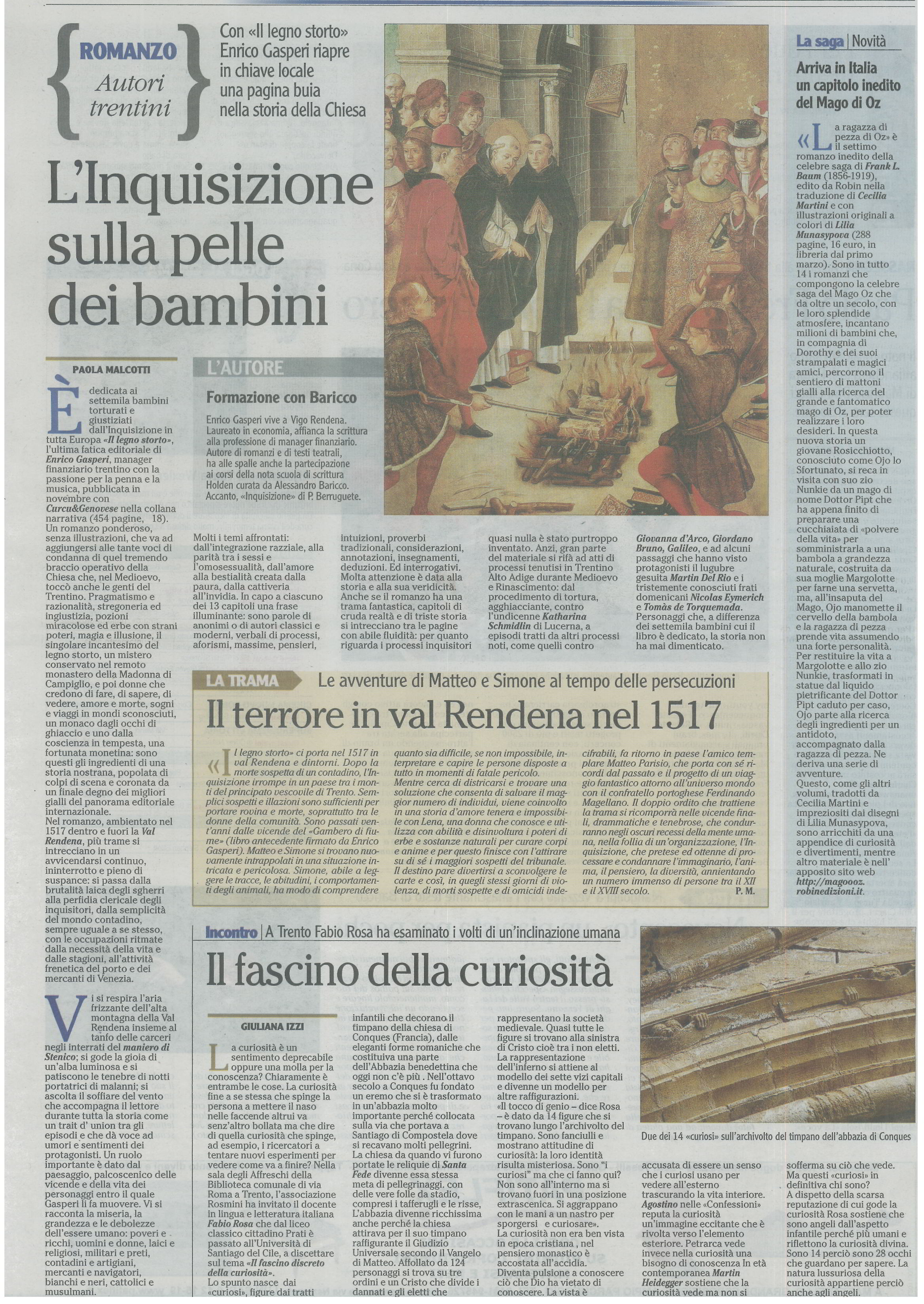 Enrico Gasperi_  20120228ladigePAGINACULTURA