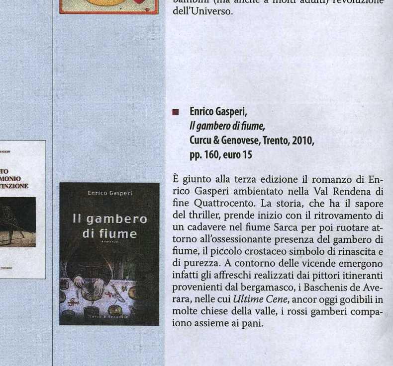 Enrico Gasperi_ il trentino ottobre 2010