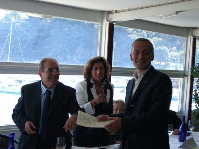 Enrico Gasperi_ novi ligure, premiazione