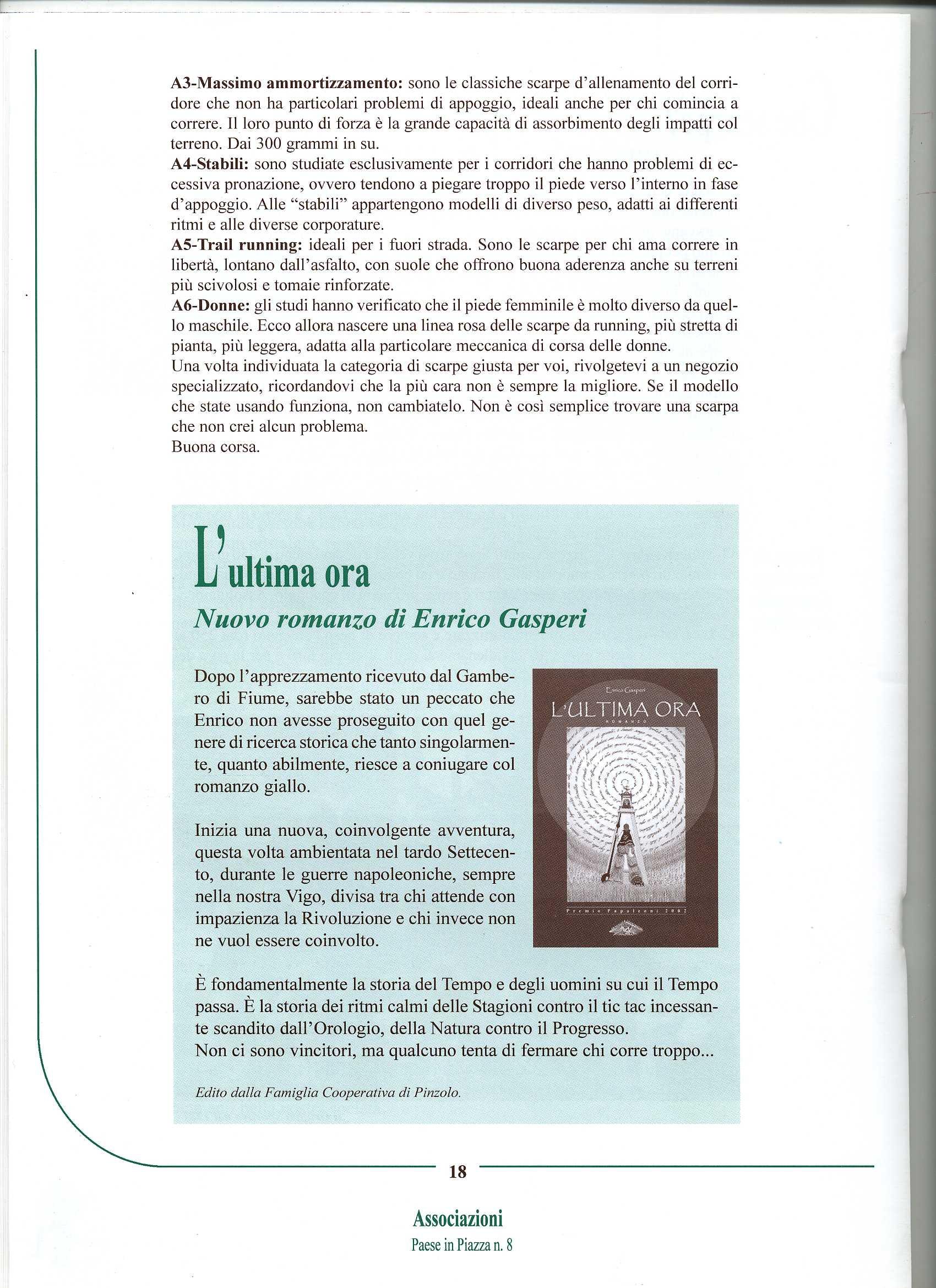 Enrico Gasperi_ paese in piazza  n. 8